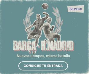 Entradas FC Barcelona - Real Madrid