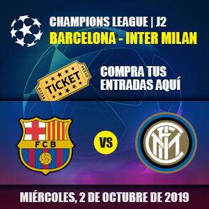 Entradas FC Barcelona - Intern Milan
